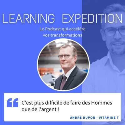 #61 - André Dupon /// C'est plus difficile de faire des Hommes que de l'argent - Vitamine T cover