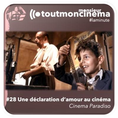 #28 Une déclaration d'amour au cinéma (Cinema Paradiso) cover