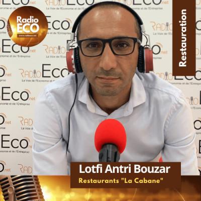 """Lotfi Antri-Bouzar I DG Groupe de  Restaurants """"La Cabane"""" cover"""
