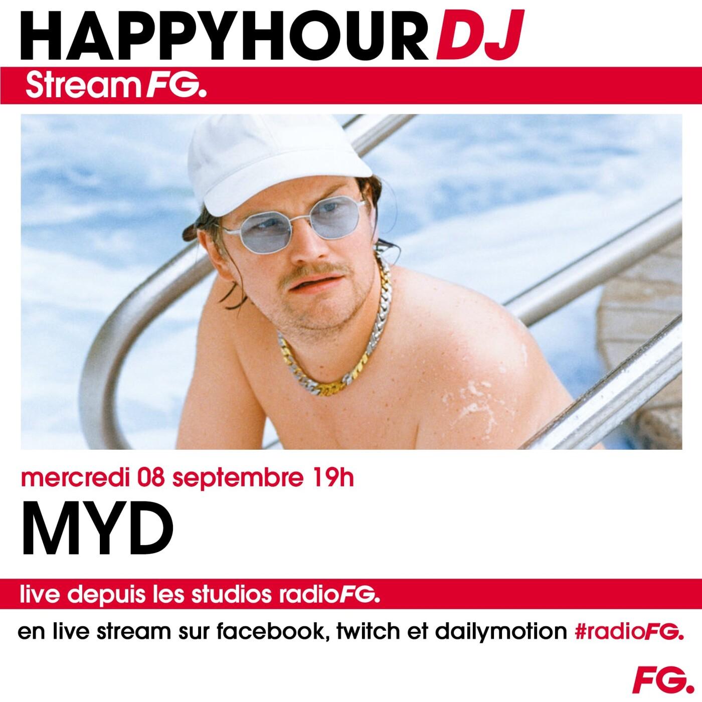 HAPPY HOUR DJ : MYD