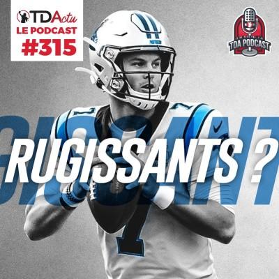 image TDA Podcast n°315 - Preview S8 : jusqu'où peuvent aller Kyle Allen et les Panthers ?