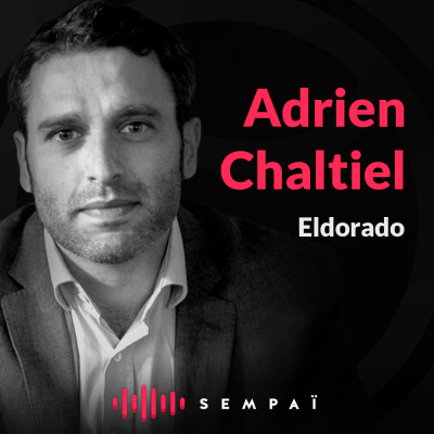 Eldorado avec Adrien Chaltiel cover
