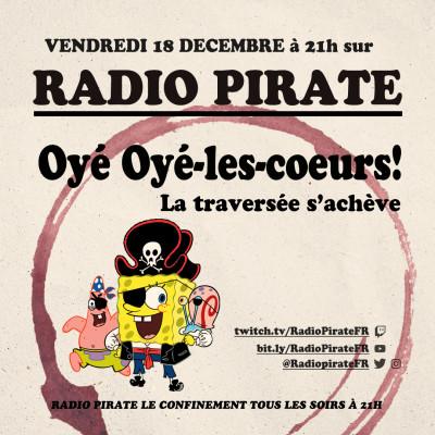 Radio Pirate - C'est la fin - Emission du vendredi 18 décembre cover