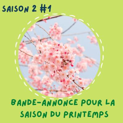 Bande-annonce pour la saison du printemps cover
