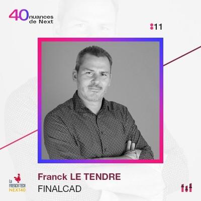 :11 Franck Le Tendre - Finalcad - On passe sa vie sur terre à mal utiliser son temps cover