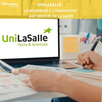 PODCAST 135 - UniLaSalle : la recherche & l'innovation aux services de la santé cover
