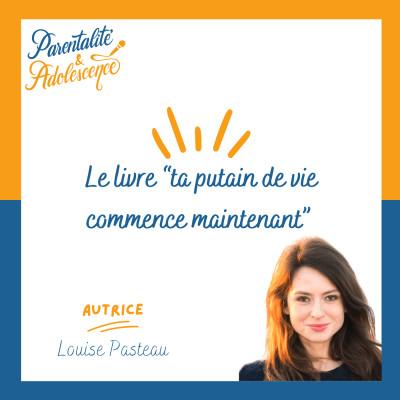 """61. Le livre """"ta putain de vie commence maintenant"""" de Louise Pasteau cover"""
