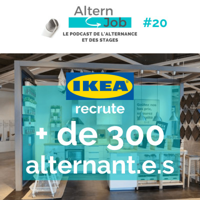 IKEA recrute + de 300 alternant.e.s - EP21 cover