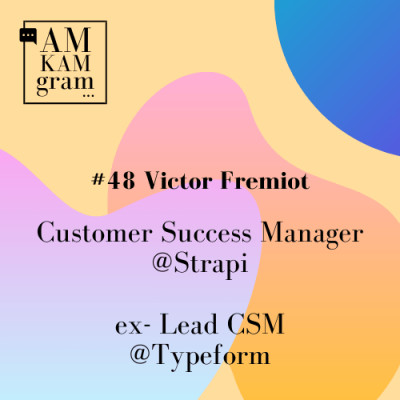 Episode 48 : Victor, Customer Success Manager chez Strapi cover