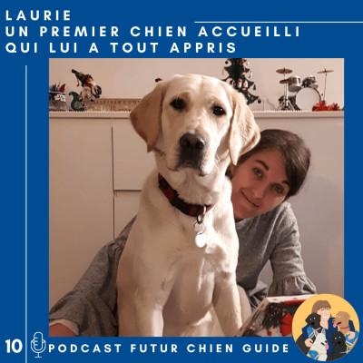 Laurie - Un premier chien accueilli qui lui a tout appris cover