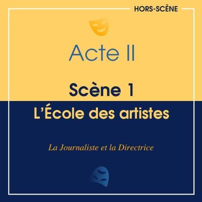 (II ; 1) L'école des artistes cover