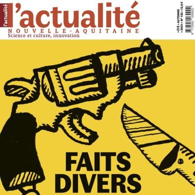 Nouvelle formule de L'Actualité Nouvelle-Aquitaine cover
