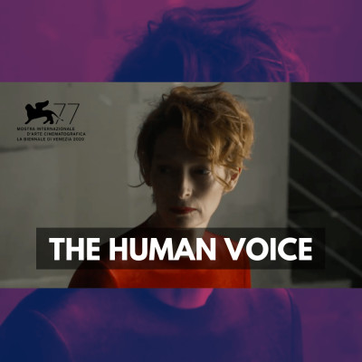 The Human Voice (Venise 2020) cover