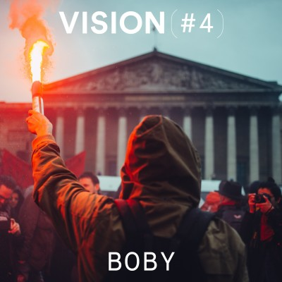 VISION #4 - BOBY cover