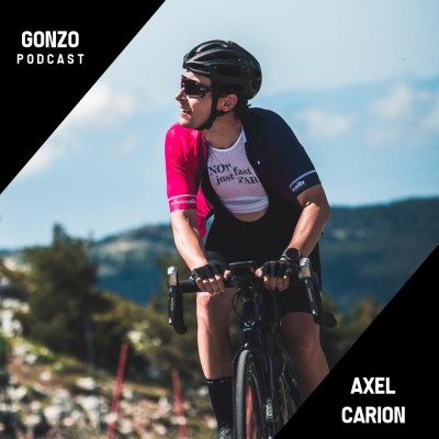 #021 Axel Carion - Découvrir le voyage à vélo, devenir accro et faire partager sa passion aux autres cover