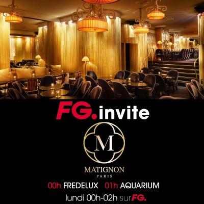 FG INVITE : LE MATIGNON PARIS cover