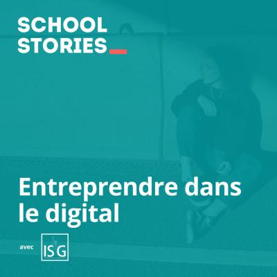 Entreprendre dans le digital - ISG International Business School cover