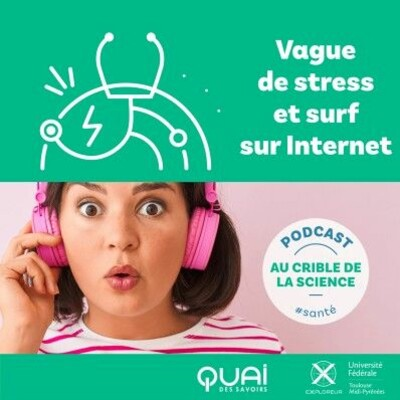 Vague de stress et surf sur internet   AU CRIBLE DE LA SCIENCE EP.05 cover