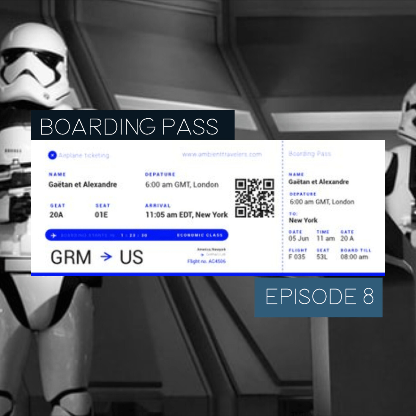 Boarding Pass 008 🛸May the 4th be with you - avec John Williams