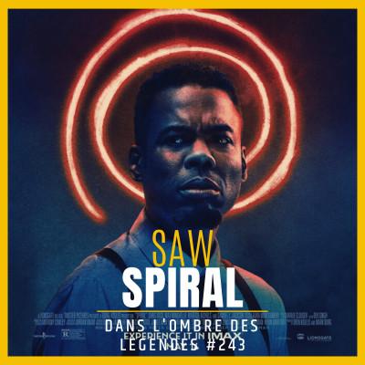 Dans l'ombre des légendes-243 Saw Spiral... cover