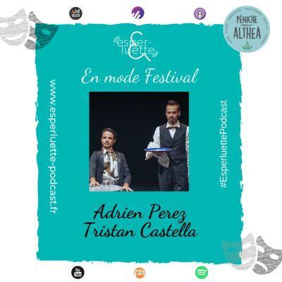 """Adrien Perez et Tristan Castella - Déboires - Esperluette """"En mode Festival"""" cover"""