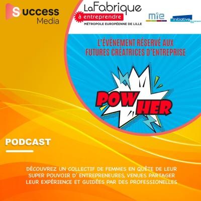 Pow'Her l'événement des futures créatrices d'entreprise cover