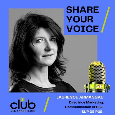 SHARE YOUR VOICE - LAURENCE ARMANGAU, SUP DE PUB cover
