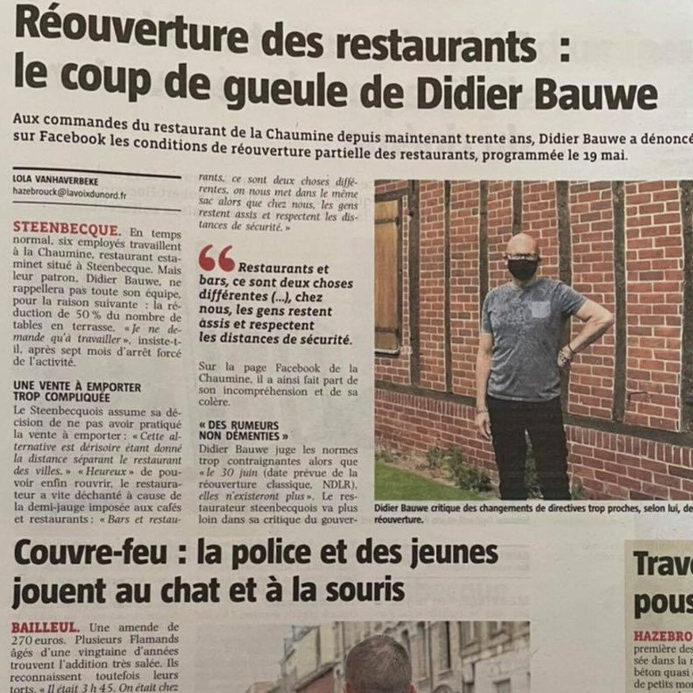 Didier, un restaurateur pas content - 14 05 21 - StereoChic Radio