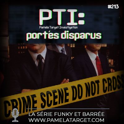 PTS02E13 PTI Portés disparus cover