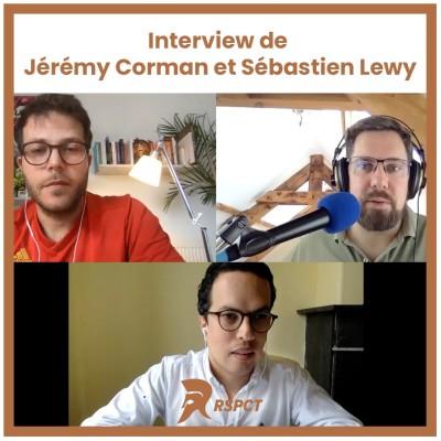 #20. Jérémy Corman et Sébastien Lewy - La machine à Café - Enfin, un Networking Digital cover
