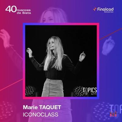 """Marie Taquet - IconoClass : """"Embauché ou remboursé !"""" cover"""