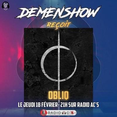 "Radio AC'S ""Demenshow"" du 18/02/21.  Guest OBLIQ cover"