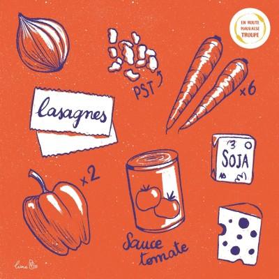 Lasagnes PST et crème de poivrons cover