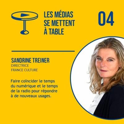 Sandrine Treiner (France Culture) - Faire coïncider le temps du numérique et le temps de la radio pour répondre à de nouveaux usages cover