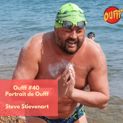 Oufff #40 - Portrait de Oufff - Steve Stievenart cover