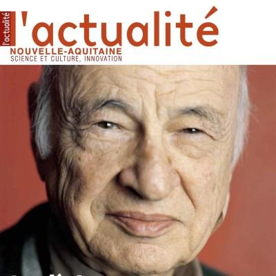 L'Actualité Nouvelle-Aquitaine n° 131 - Le siècle d'Edgar Morin cover
