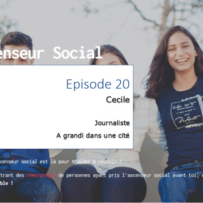 L'ascenseur social le Podcast - Episode 20 - Cécile cover