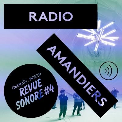 RADIO AMANDIERS #4 - GWENAËL MORIN cover