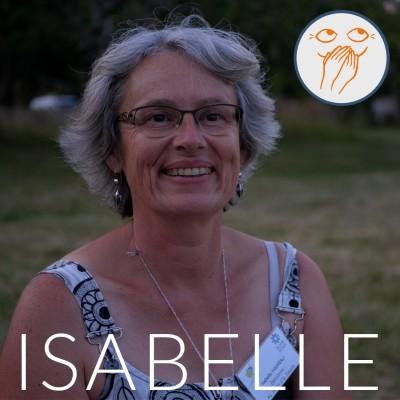 Être grand-mère, haut potentiel et se bouger pour un monde meilleur, Isabelle cover