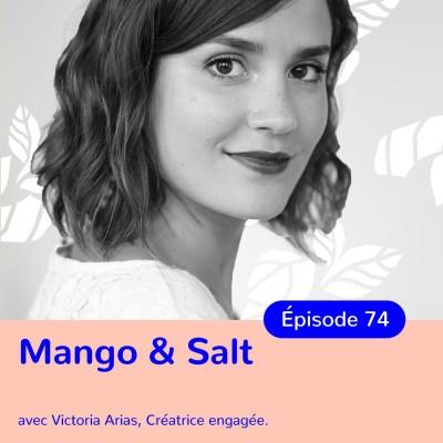 Victoria Arias, Mango&Salt, vivre une slow life cover