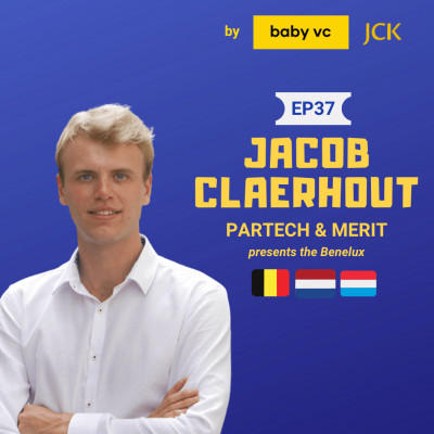 #37 The Benelux with Jacob Claerhout (Partech) cover