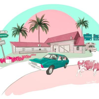 La route des vacances (2/3) : jambon-beurre contre sandwich triangle cover