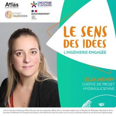 PRÉSERVATION DU LITTORAL - Elsa Henry, cheffe de projet hydraulicienne cover