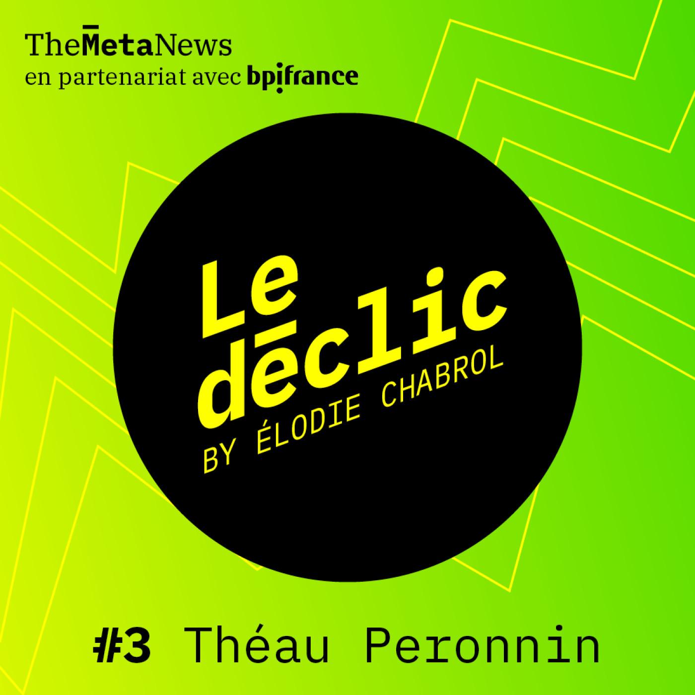 Théau Peronnin, fondateur d'Alice & Bob