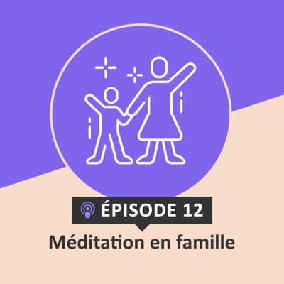 Méditation en famille cover