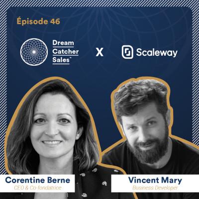 #46 Scaleway : de la vente On Premise à la vente en SaaS, comment faire évoluer sa stratégie commerciale avec Vincent Mary cover