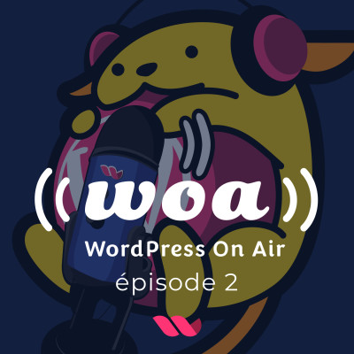 WOA! (WordPress On Air) #2 Yoast gate et Wordcamp Marseille cover