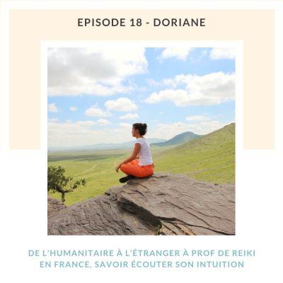 image #18 Doriane, de l'humanitaire à l'étranger à prof de Reiki en France : savoir écouter son intuition