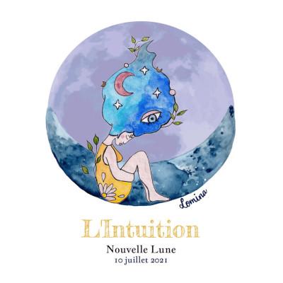 Les énergies de la nouvelle lune du 10 juillet 2021 : Intuition, transmission et évolution cover