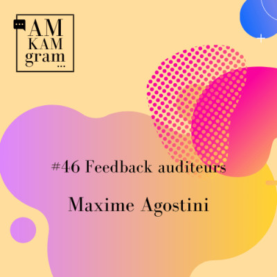 Episode 46 : Feedback auditeurs - Maxime cover